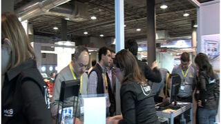 Los talleres visitan en masa el stand de InfoCap en Motortec