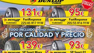 Neumáticos desde 46 euros en la red Sadeco
