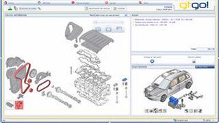 GtGo! acerca al pequeño taller datos on line de piezas