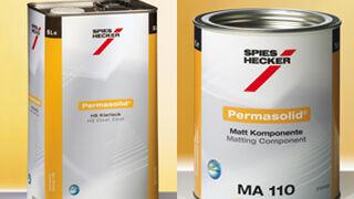 Las marcas apoyan el sistema de reparación de acabados mate de Spies Hecker