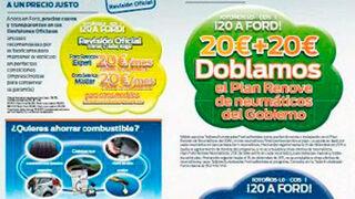 Revisión oficial de Focus, C-Max o Kuga por 20 euros al mes