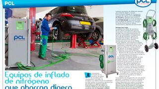 PCL, equipos de inflado de nitrógeno que ahorran dinero
