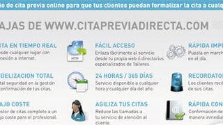 Servicio de cita previa online para talleres de reparación