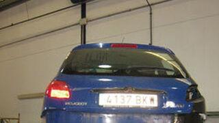 Las tormentas llevan más coches a los talleres de Vinaroz (Castellón)