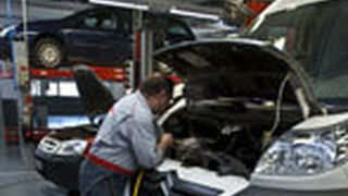 La actividad de los talleres de los concesionarios cae entre el 7% y el 10%