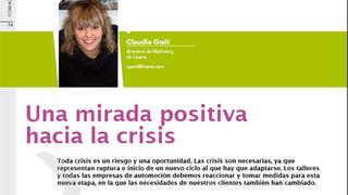 El taller debe tener una mirada positiva ante la crisis