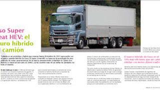 Fuso Super Great HEV: el futuro híbrido del camión