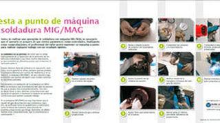 Puesta a punto de máquina de soldadura MIG/MAG