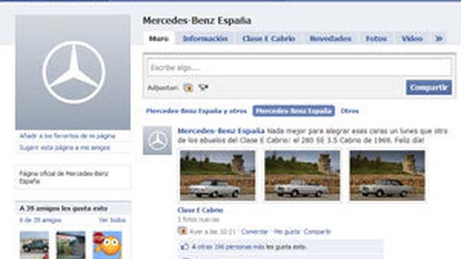 Mercedes, única marca que aprueba en la asignatura de las redes sociales