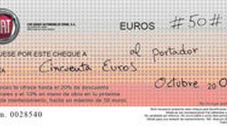 Fiat descuenta 50 euros en revisiones a coches de más de cuatro años
