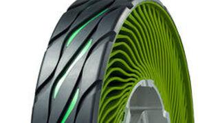 """Bridgestone """"non pneumatic"""", novedad en el Salón de Tokio"""