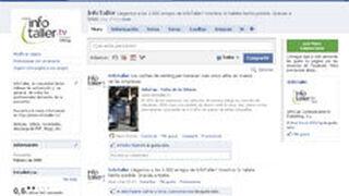 Infotaller llega a los mil amigos en Facebook e InfoCap, a tres mil