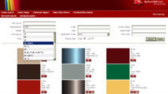 Búsquedas de color online más eficientes con DuPont Refinish