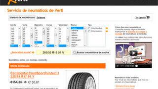 Verti vende online y monta neumáticos a domicilio