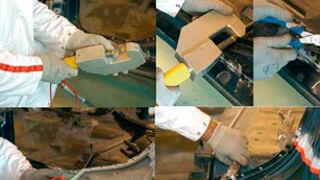 Cómo aplicar remaches macizos en aluminio
