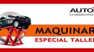 Autorola: subasta especial de maquinaria para talleres