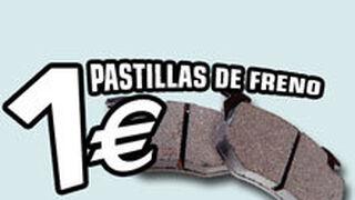Norauto ofrece pastillas de freno a un euro al cambiar los discos