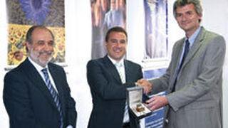 Berner España recibe la Contrapesa de Oro, otorgada por Hofmann Técnica del Equilibrado