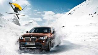 BMW recomienda neumáticos de invierno para mantener la seguridad