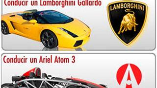 Manda tu mensaje y conduce un Lamborghini Gallardo