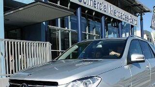 Mercedes incorpora un código QR para ayudar en caso de accidente