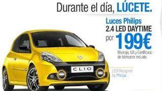 Luces diurnas y neumáticos, nuevas campañas de Renault Servicios