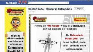 """Confort Auto busca a su """"Chic@ Calendauto"""""""