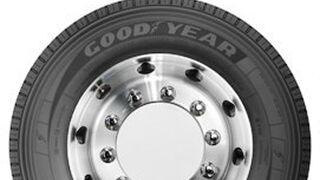 Nueva gama de neumáticos Goodyear de alta carga para camiones