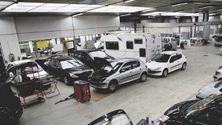 Cantabria es la región que más vehículos repara por taller