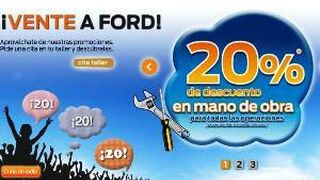 Rebajas en el servicio posventa de Ford
