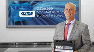 Exide fabrica 2,5 millones de baterías para sistemas Start & Stop