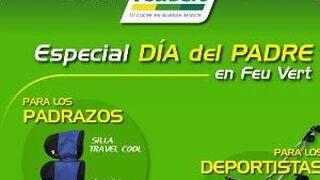 Feu Vert ofrece precios especiales para celebrar el Día del Padre