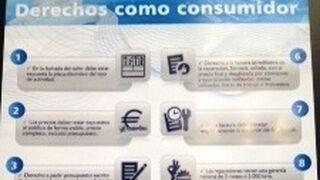 Decálogo de los derechos del consumidor en el taller
