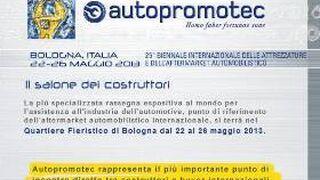 La 25ª edición de Autopromotec se celebrará en mayo de 2013
