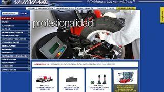 Nueva web con tienda virtual de Sernesa
