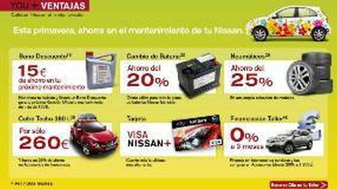 Nissan lanza una campaña de primavera con nuevas ofertas