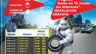 Hipercor y El Corte Inglés, montaje gratis de neumáticos