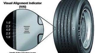 Continental presenta un indicador de alineamiento para neumáticos industriales