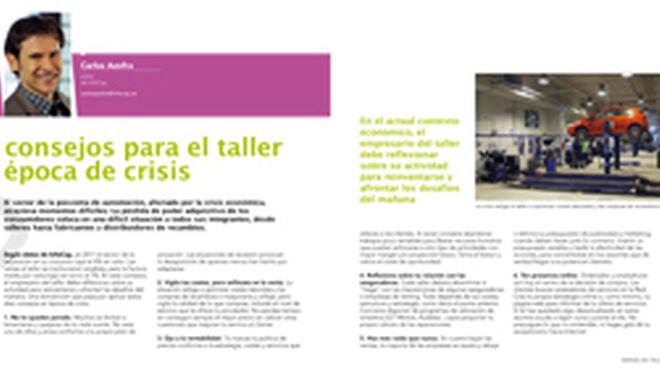 10 consejos para el taller en época de crisis