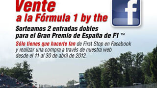 First Stop sortea dos entradas para la Fórmula 1 en España