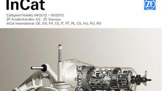 Nuevo catálogo de piezas InCat de ZF Services