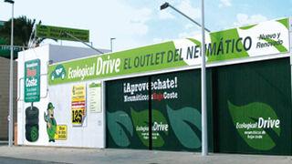 Ecological Drive, la red verde de talleres y neumáticos reciclados