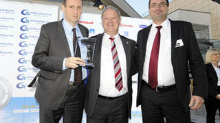 Gates, premiado por Groupauto como Proveedor del año