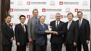 Toyota premia la atención de tres concesionarios españoles