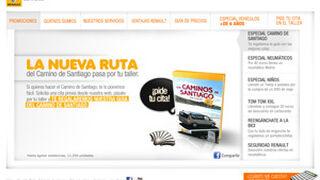 Renault regala a sus clientes su guía del Camino de Santiago