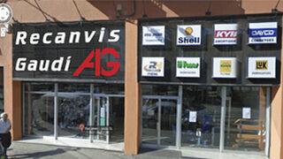 Recambios Gaudí abre una tienda en Lleida