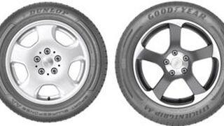 Goodyear y Dunlop sacan sus primeros prototipos AA