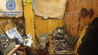 Desarticulado un taller ilegal que explotaba a extranjeros