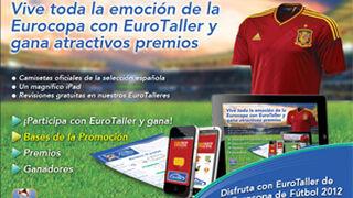 EuroTaller regala 30 camisetas oficiales de la Roja y un iPad