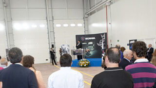 Diasa inaugura un concesionario Scania en Palencia